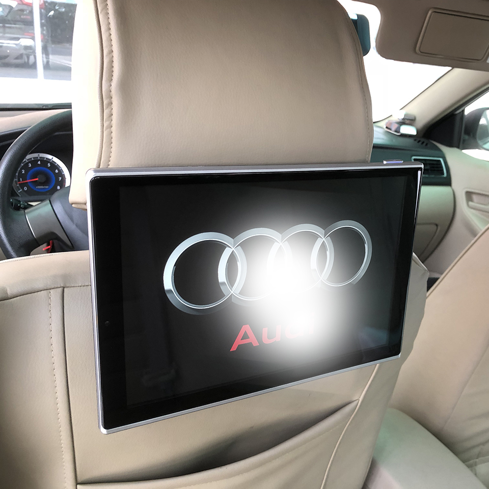 New Items 2020 Electronics Car Android 9.0 Headrest Monitor For Audi A1 A3 A4 A5 A6 Q3 Q5 A8 Rear Seat Entertainment DVD Player|Car Monitors| |  - title=