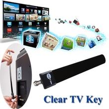Прозрачная ТВ антенна, комнатная ТВ антенна, HD tv 100+ бесплатно, HD tv цифровая кабельная антенна 1080p канатная ТВ для домашней мастерской