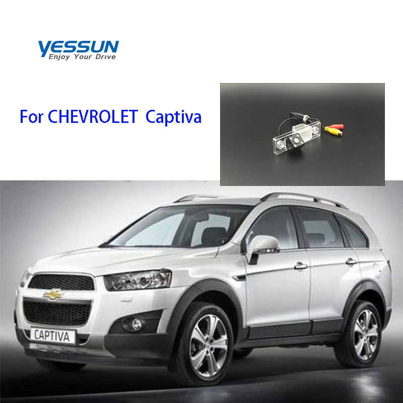 Yessun License Plate Rear View Camera 4 LED Night Vision 170 Degree HD For CHEVROLET Captiva Accessories