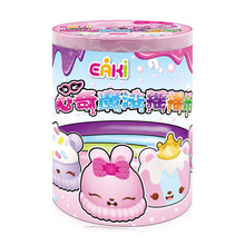 New Arrival EAKI  Slime Shake dolls Girls Toys Crystal color clay Hobbies Accessories DIY puzzle childrens toys gift