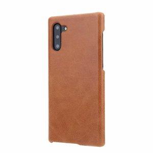 Ультратонкий чехол из натуральной воловьей кожи для Samsung Note 8 9 10Plus, Мягкий защитный чехол для Galaxy S8 S9 S10E S10Plus