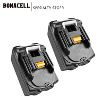 Bonacell 18V 4000mAh BL1830 Lithium Battery Pack Replacement for Makita Drill LXT400 194205-3 194309-1 BL1815 BL1840 BL1850 L30 1 pc new replacement rechargeable batteries for makita 18v 18 volt 4 0ah 4000mah bl1830 bl1840 lxt400 194205 3