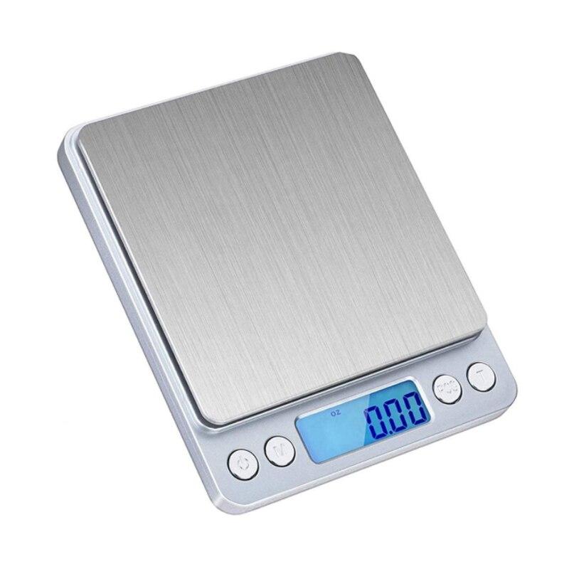 Точные цифровые весы 0,01 г/0,1 г с ЖК-дисплеем, электронные мини-весы 500 г/3000 г, весы для взвешивания чая и выпечки-2