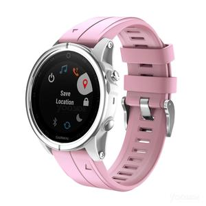 Image 2 - Ремешок YOOSIDE для часов Fenix 6S, 20 мм, Быстросохнущий Силиконовый водонепроницаемый спортивный браслет для Garmin, Fenix, 5S, Plus, Смарт часы