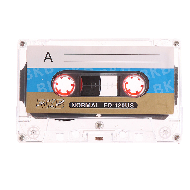 1PC Standard Cassette Blank Tape Player Empty 60 Minutes Magnetic Audio Tape For Repeater Recorder