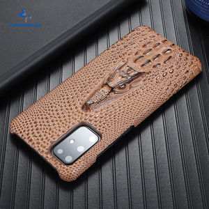 Image 1 - Super Anti fall Case For Samsung Galaxy S20 Ultra S 20 Plus S10 Plus Case Cowhide Leather Heavy Duty Protection Anti knock Cover