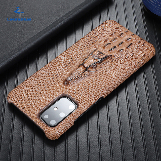 Super Anti fall Case For Samsung Galaxy S20 Ultra S 20 Plus S10 Plus Case Cowhide Leather Heavy Duty Protection Anti knock Cover