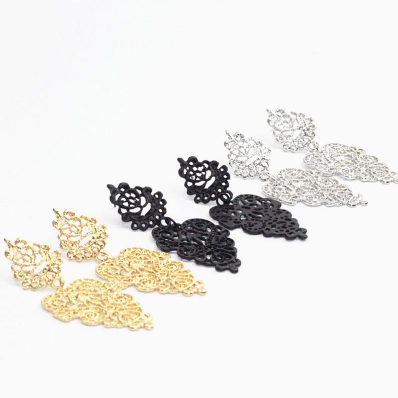 CARTER LISA Fashion Original Design Orebellen Orecchini Brincos Bohemian Wild Pendants Drop Earrings Bridal Jewelry For Women