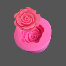 Rose-Baking-Tool Moulds Cake-Mold Flower Candy-Decoration 3D Jelly DIY Bloom 50--30mm
