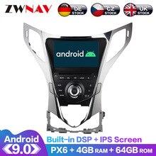 Android 9 IPS Screen PX6 DSP For Hyundai AZERA Grandeur HG I55 2011 + Car DVD GPS Multimedia Player Headunit Radio Audio Stereo
