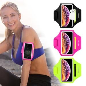 Спортивный чехол для iPhone 11 Pro Max X XR 6 7 8 Plus Samsung Note 10 S10 S9 P30, нарукавники для тренажерного зала, сумка для Airpods