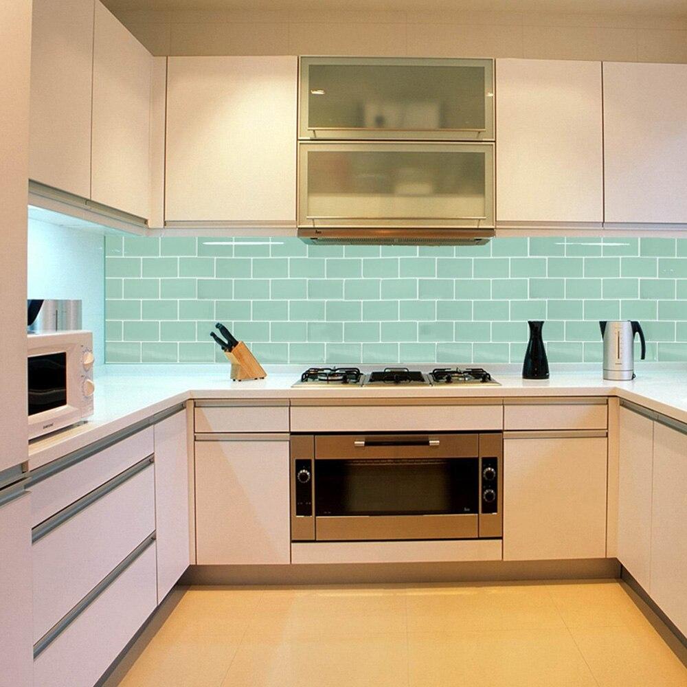 Salle de bains cuisine 3D mur autocollant 3D mosaïque goutte ...