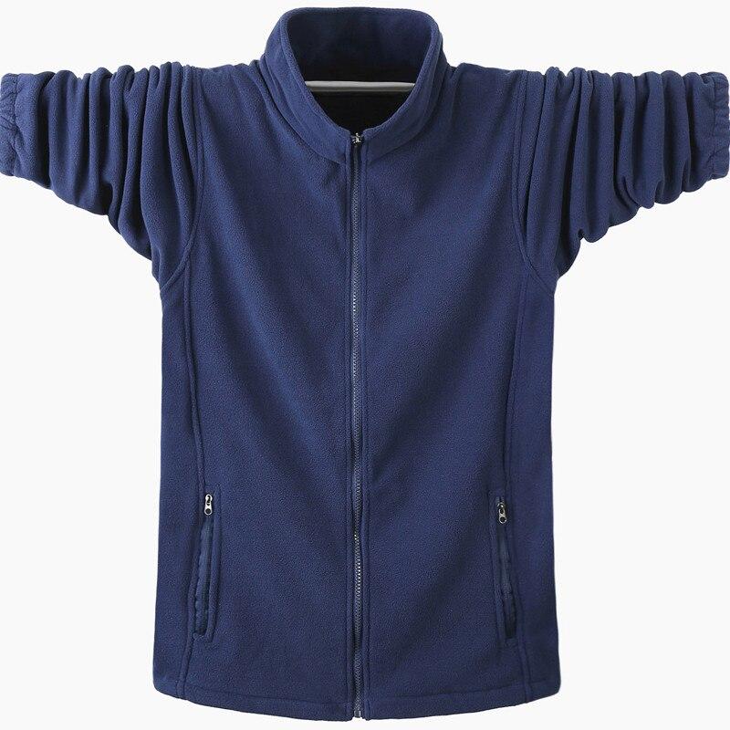 Autumn Winter New Warm Soild Hoodies 2020 Men Casual Hoodies Sweatshirt Sportswear Male Fleece Hooded Jacket Large Size 5XL 6XL