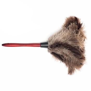 Anti-estática pluma de avestruz Natural de polvo de brocha para polvos herramienta...