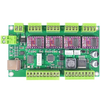 CNC Engraving Machine Control Board,CNC Shield,GRBL 1.1, USB ,3 Axis Control,Offline Controller Board cnc engraving machine mach3 usb to parallel lpt port converter adapter controller