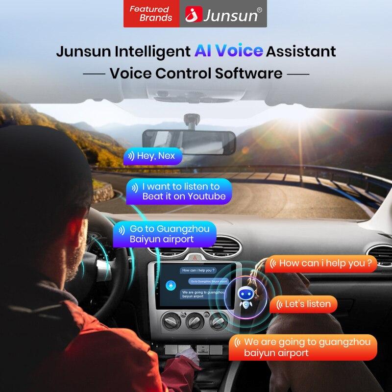 Умное программное обеспечение для голосового помощника и управления голосом Junsun только для Junsun Radio after 10-2020