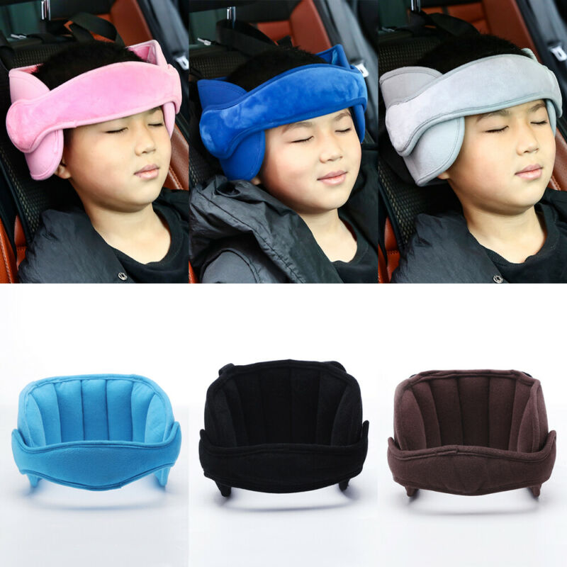 New Baby Kids Adjustable Car Seat Head Support Head Fixed Sleeping Pillow Neck Protection Safety Playpen Headrest image