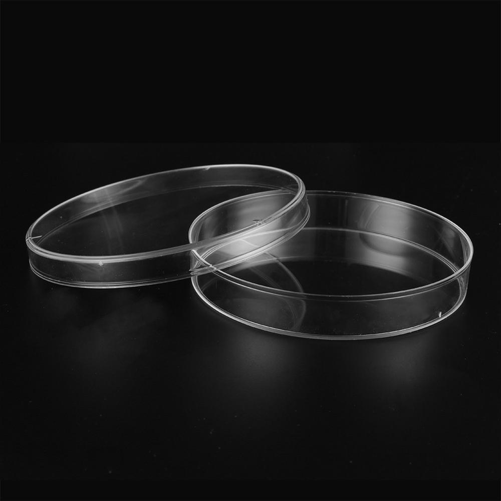 10 Pcs 100mm Transparent Polystyrene Sterile Petri Dishes  Affordable For Cell Sterile Chemical Instrument Laboratory Supplies