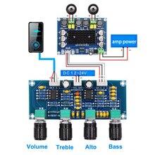 Placa amplificadora de som repalhável ne5532, equalizador ajustável de graves agudos e áudio, pré amplificador com controle de tom