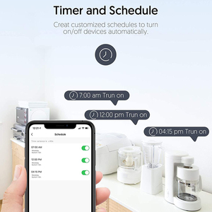 Image 4 - Tuya Smart life 16A UK WiFi Smart Socket Remote Control with Energy monitoring Power Consumption work with Alexa and google home