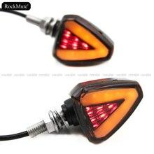 For YAMAHA FZ1 Fazer FZ1N FZ8 FZ6 N/S Motorcycle LED Turn Signal Indicators Light Amber Blinker Led Lamp Retrofit Styling
