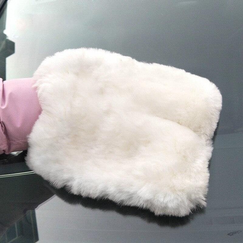 Двухсторонние многофункциональные перчатки для чистки автомобиля, толстые бархатные впитывающие перчатки высокой плотности для очистки