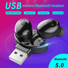 Bluetooth 5.0 earphones TWS Blutooth IPX5 Waterproof Handsfree Sport Gaming Headset Fast Charge