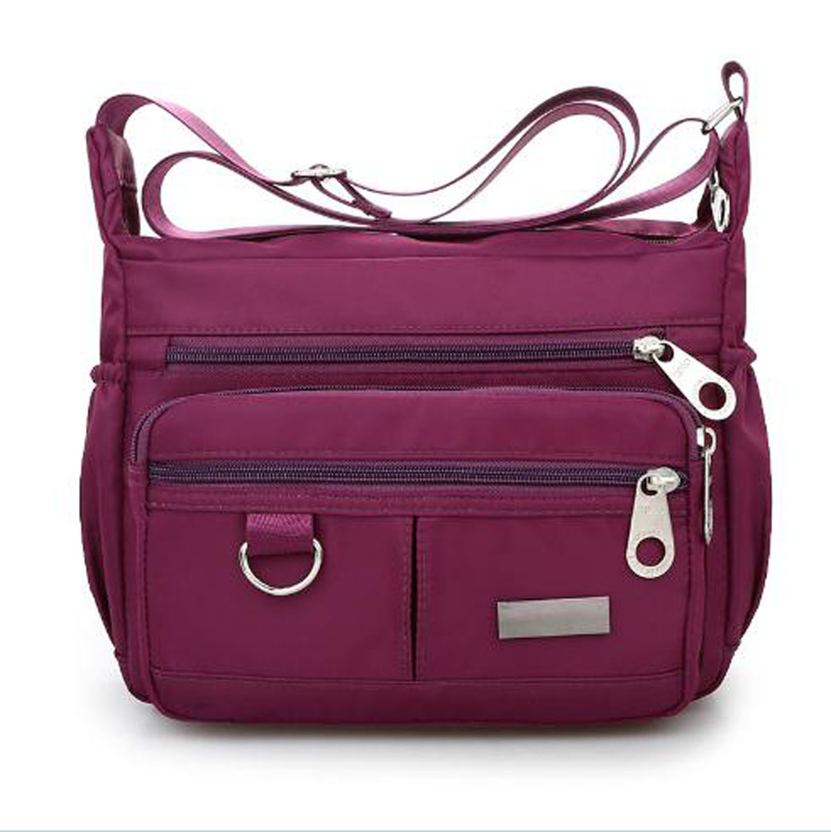 Women Lady Multi Pocket Messenger Bags Crossbody Shoulder Bag Casual Handbag Messenger Crossbody Bag Nylon Purse Waterproof Side Bags Handbag Brands From Asomemistake 24 3 Dhgate Com