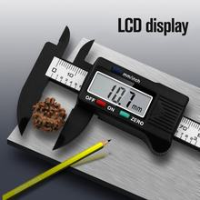 0-100mm precisão digital eletrônico lcd vernier pinça ferramenta régua ferramentas de medição calibre calibre vernier