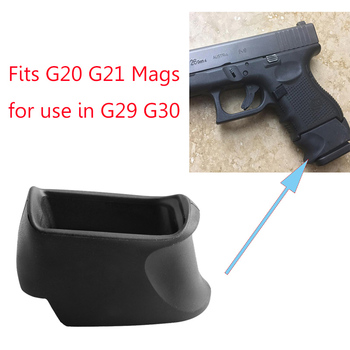 MAGORUI Tactics Rubber Grip Adapter Apply to GLOCK 29-30 Fit G20 G21 Mags for use in G29 G30 image