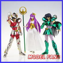 Fãs modelo em estoque grandes brinquedos gt ex bronze saint seiya v1 pegasus/dragão capacete metal armadura mito pano figura de ação