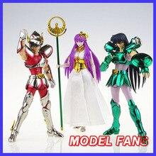 Modèle FANS en stock Great toys grands jouets GT EX bronze Saint Seiya V1 Pegasus/dragon casque métal armure mythe figurine en tissu