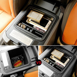 Image 3 - Car Armrest Box Storage for Toyota Land Cruiser Prado 120 150 FJ120 2003 2004 2005 2006 2007 2008 2009 Styling Accessories