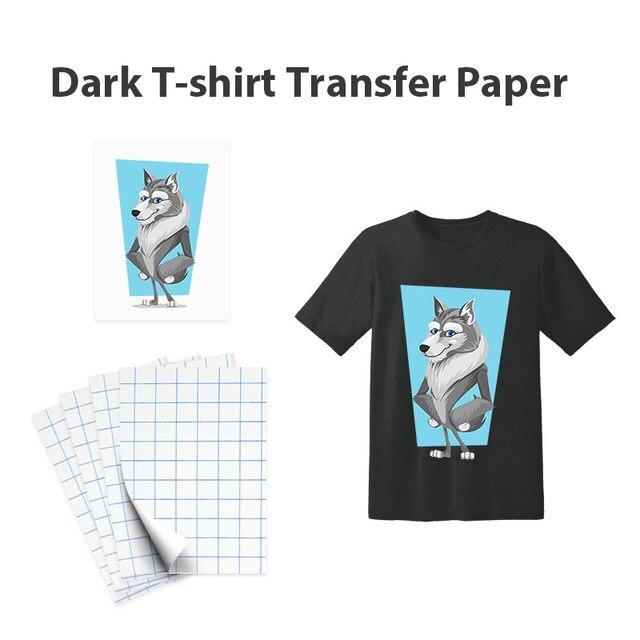 深色T恤转印纸附图