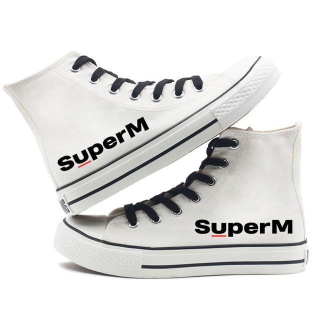 SUPER M HIGH TOP SHOES (12 VARIAN)