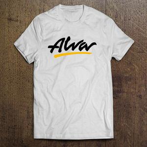 Alva скейтборд террасы классический логотип Футболка размер S 2Xl