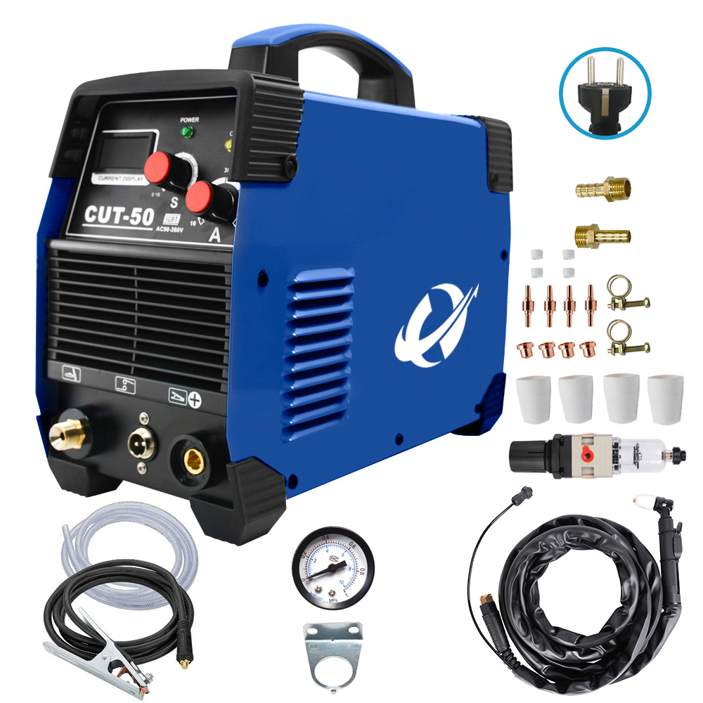 IGBT CUT50 50Amps DC Air Plasma Cutting Machine Plasma Cutter 220V Clean Cutting Thickness 20mm