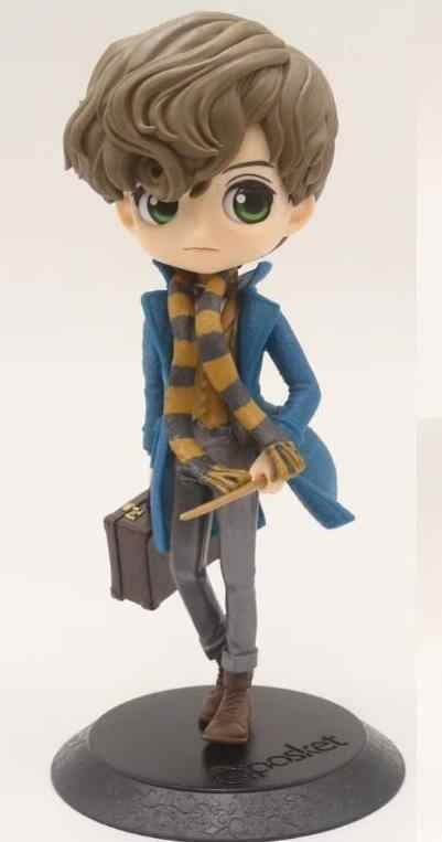 Draco Malfoy QPosket Bonito olhos Grandes e Ron Weasley Hermione Granger Vinil Figura Modelo Brinquedos 15 centímetros