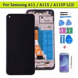 Для Samsung Galaxy A11 SM-A115F ЖК-дисплей с сенсорным экраном в сборе для Samsung SM-A115F/DS ЖК-экран