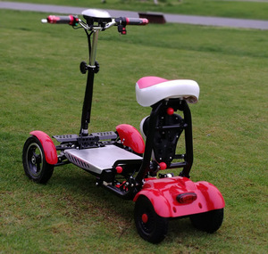 Новые творческие Электрический Скутер Складной Велосипед Складной электрический скутер хорошее эксклюзивный маленький велосипед/детскй ...