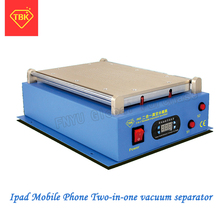 TBK 968 14 inch Manual Separator For smartphone/tablet pc Repair Machine Lcd Touch Screen Glass Separate,Built-in pump separator