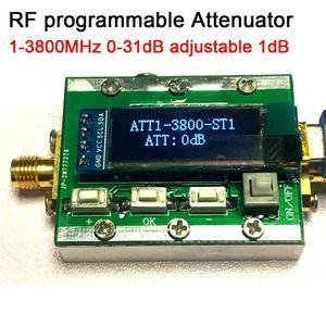 Image 1 - 1Mhz 3800Mhz Digitale Programmeerbare Rf Verzwakker Controle 0 31dB Verstelbare Stap 1dB Pc Controleerbaar