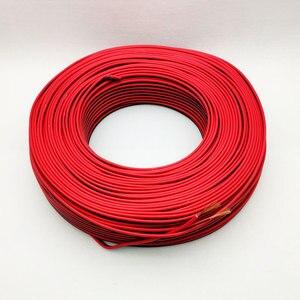 Image 5 - 150m cavo LED 16AWG filo Elettrico cavi UL2468 300V rame Rosso nero prolungare RVB filo Per La Striscia del LED isolati IN PVC filo da DHL