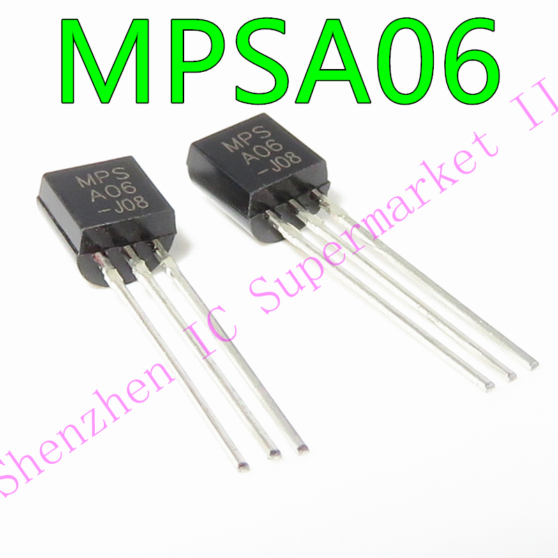 1PCS MPSA06 TO-92 in stock