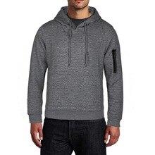 MoneRffi 2020 Spring Men's Hoodies Solid New Fashion Men Casual Hooded Sweatshirts Warm Femme Men Clothes Slim Fit Jumper