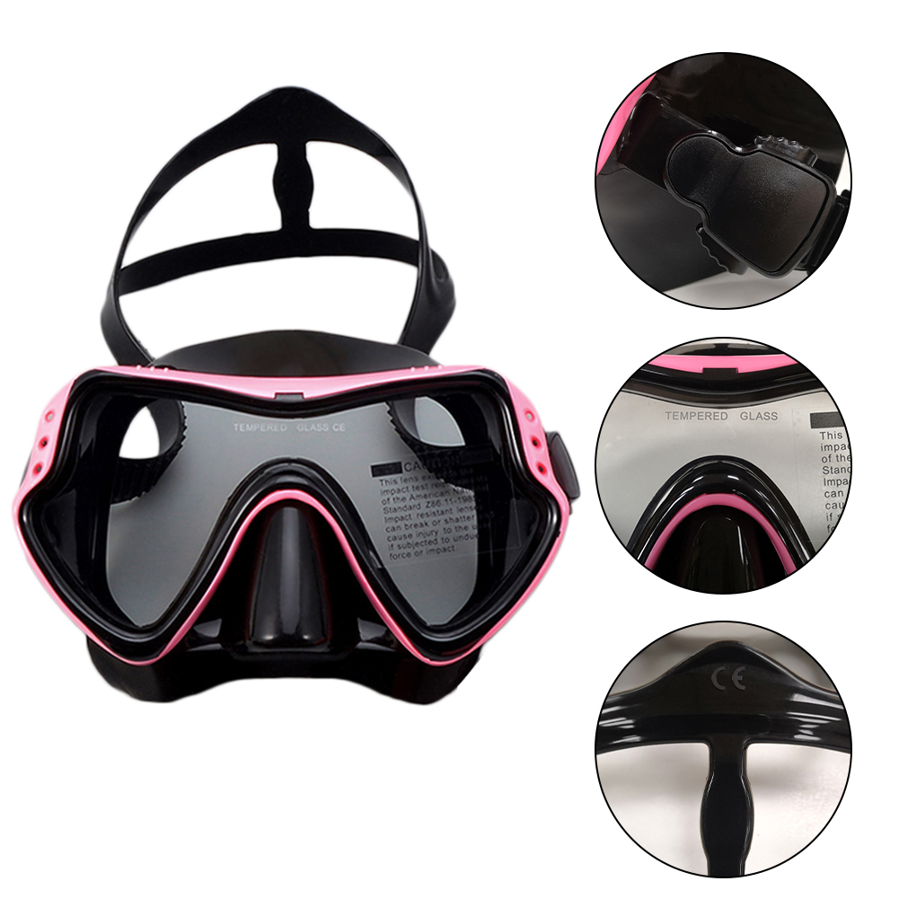 Professional Scuba Diving Mask And Snorkels Anti-Fog Goggles Glasses Diving Swimming Easy Breath Tube Set