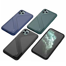Soft Cover Full Protection S Shape Carbon Fiber TPU Silicone Phone For iPhone 11 Pro Max XS 7 8 Plus 6S Case