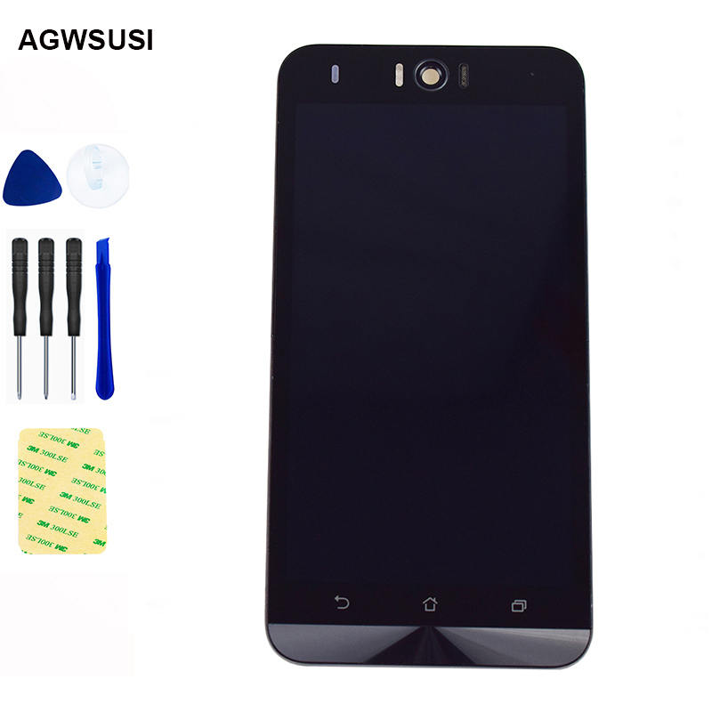 For Asus Zenfone Selfie ZD551KL LCD Screen Z00UD LCD Display Panel ZD551KL LCD Touch Screen Digitizer Sensor Assembly Frame|Mobile Phone LCD Screens| |  - title=
