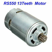Replace Motor-Rs550 BOSCH 18V Metal for GSR10.8-2-LI with Strong Magnetic Carbon-Brush