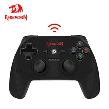 Redragon HARROW G808 Wireless Gamepad,PC Game Controller, Harrow,for Windows PC,PS3, Playstation,Android,Xbox 360